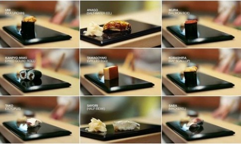 Sukiyabashi Jiro - Noi co sushi ngon nhat the gioi