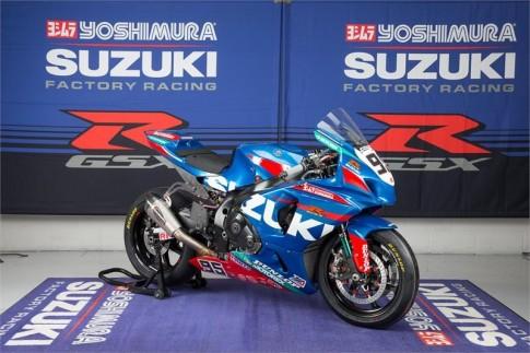 Suzuki ra mat doi dua Yoshimura Suzuki Factory Racing