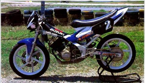 Suzuki Raider R150 phien ban dua