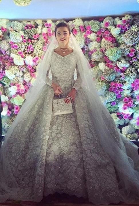Thế giới váy cưới Haute Couture hàng trăm nghìn USD