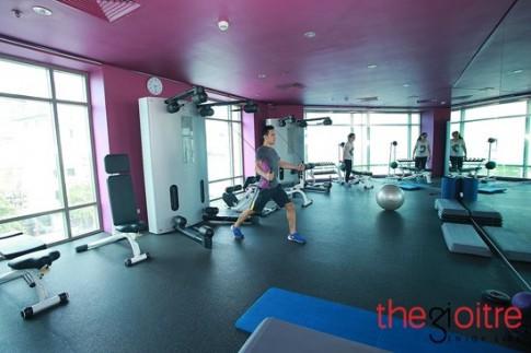 Thien duong rong 2000m2 giua long Ha Noi cho nguoi thich tap gym, yoga