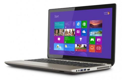 Toshiba gioi thieu laptop man hinh 4K gia khoang 30 trieu dong