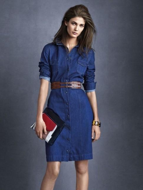 Váy liền thân đẹp cho nàng công sở thoải mái sành điệu