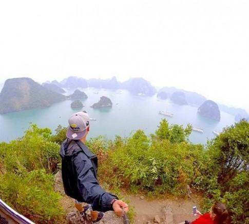 Vinh Ha Long lot top nhung dia diem selfie dep nhat hanh tinh