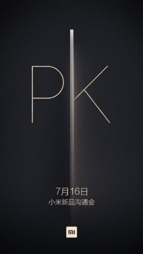 Xiaomi to chuc su kien vao ngay 16/7: Mi 5