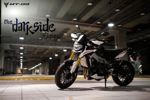 Yamaha MT-09 phien ban Dark Side of Japan