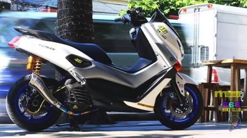 Yamaha N-Max do khung voi dan do choi doc nhat