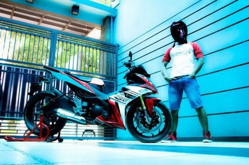 Yamaha X1R do so dang cung...chu xe