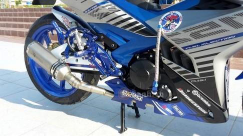 Yamaha Y15ZR do rat tuoi cung nhieu do choi den tu biker nuoc ban