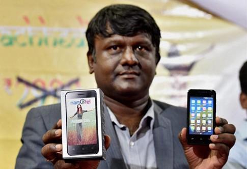 An Do ra smartphone re nhat the gioi, gia gan 1,5 USD