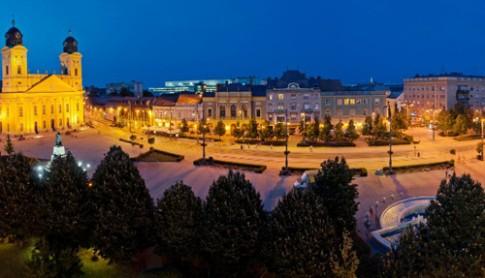 Debrecen - 'Thu do du phong cua' Hungary