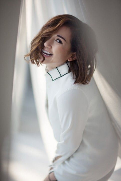 Fashionista Tram Nguyen voi phong cach don sac goi cam