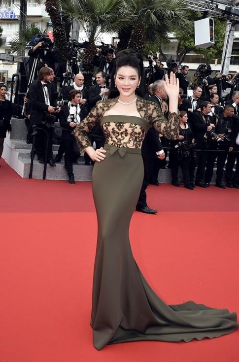 Ly Nha Ky long lay nhu nu hoang tai tham do Cannes 2016