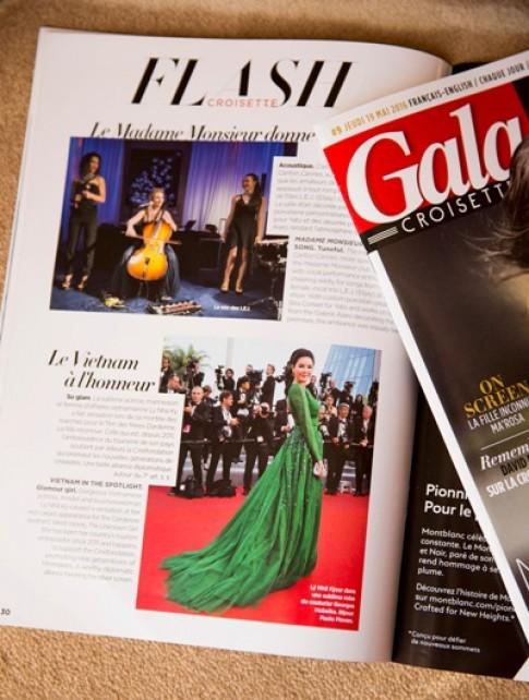 Phong cách của Lý Nhã Kỳ được báo Pháp khen ngợi