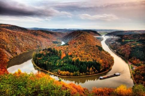 Sông Saar - 'chiếc kẹp tóc vàng' của nước Đức