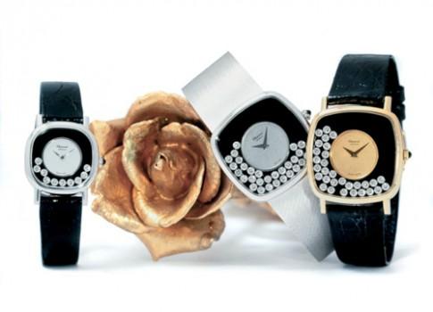 Vẻ đẹp vượt thời gian của đồng hồ Happy Diamonds