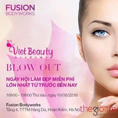 Ban tre Ha Thanh hao huc voi Ngay hoi lam dep o Fusion Bodyworks