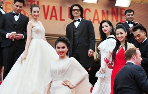 Cham diem thoi trang sao Viet tai Cannes 2013