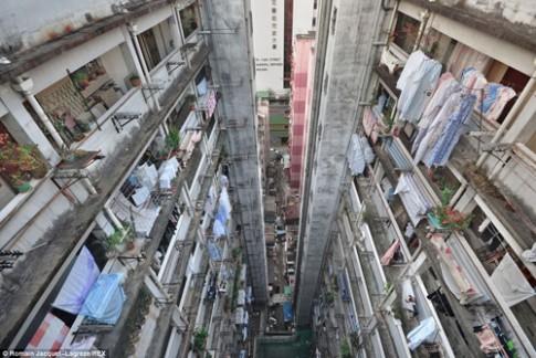 Choang vang nha choc troi Hong Kong 'dam' tua tua