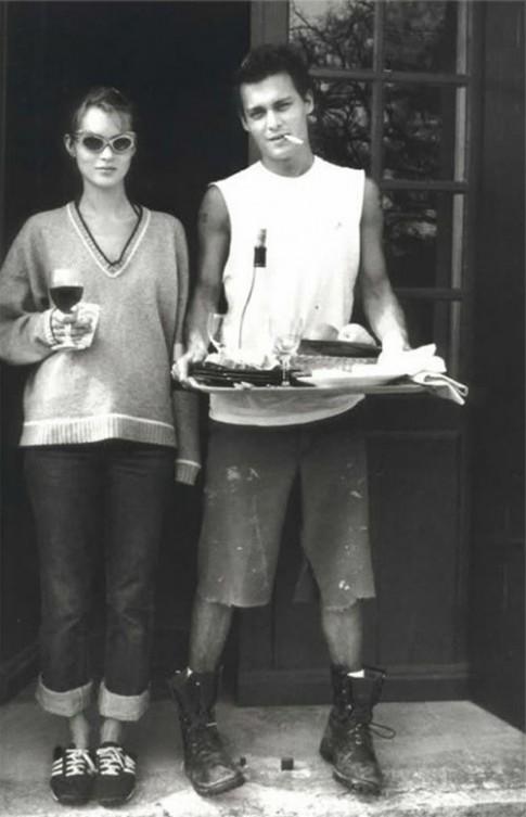 'Duong tinh thoi trang' Kate Moss-Johnny Deep