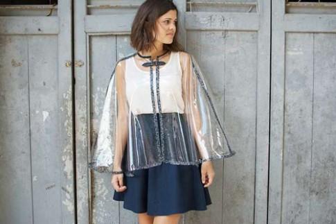 Eva khéo tay: Tự làm áo mưa thật thời trang