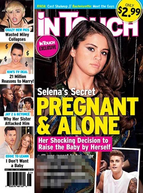"""Eva """"soi"""" 15/5: Selena từng có thai với Justin"""