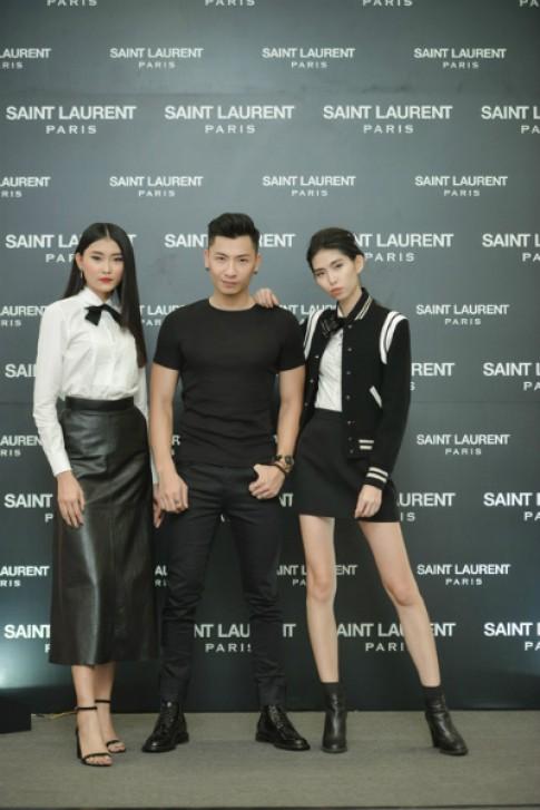 Fashionista Việt dự tiệc khai trương Saint Laurent tại TP HCM