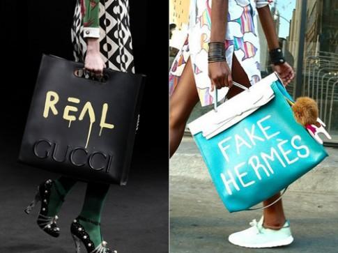 Gucci bị chỉ trích 'đạo' ý tưởng túi xách của fashionista Mỹ