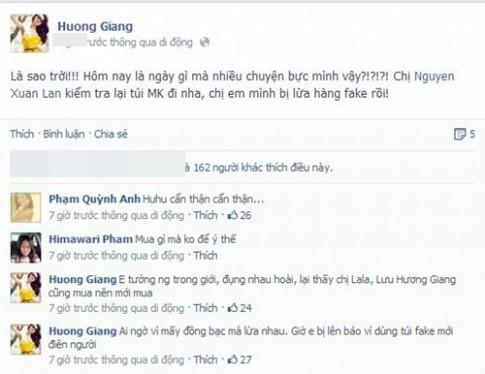 Pha Le len tieng vu ban tui fake cho Huong Giang