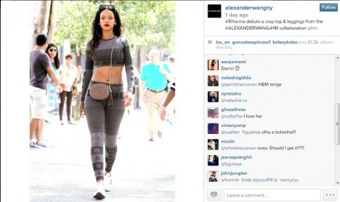 Rihanna bat ngo mac do H