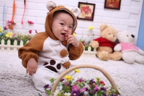 Sieu mau nhi: Nam Kiet 'cute' het say!