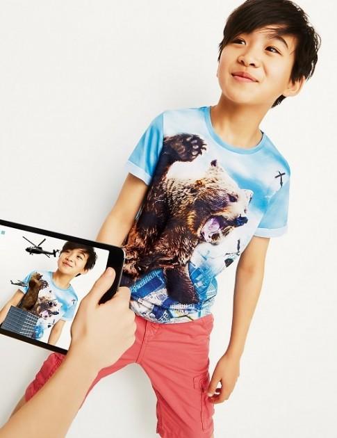 """Sốt """"sình sịch"""" cùng áo công nghệ tương tác ảo 4D cho bé"""