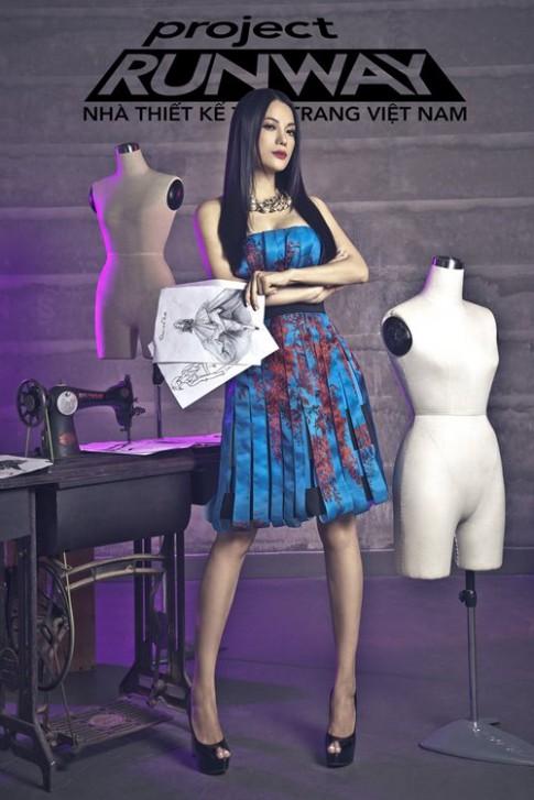 Trương Ngọc Ánh trở thành Host Project Runway 2014