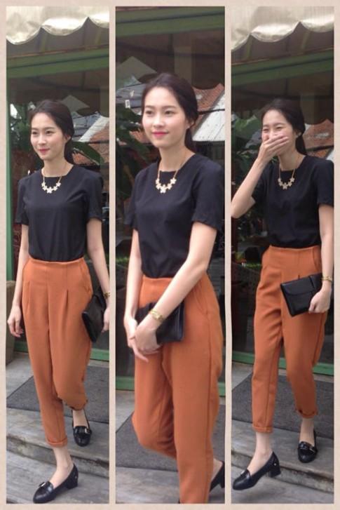 Tuan qua: HH Thu Thao cuon hut voi style thanh lich