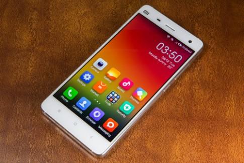 Xiaomi Mi4 sap duoc ban chinh hang voi gia 3 trieu dong