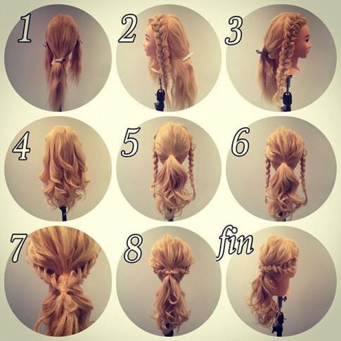 7 kiểu tóc tết đẹp như nữ thần cho cô dâu ngày cưới