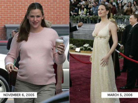 Bí quyết giảm cân ngoạn mục của 8 bà mẹ Hollywood