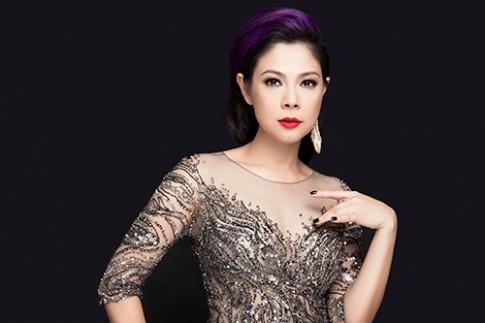 Bup be Thanh Thao toa sang trong vay pha le long lay