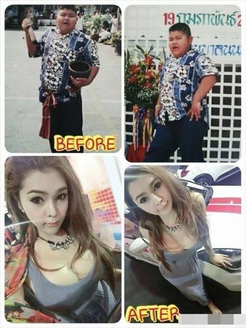 Chang beo Thai Lan chuyen gioi thanh my nu goi cam