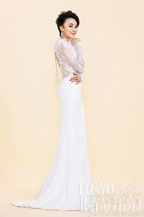 Chọn váy cưới tuyệt đẹp cho cô dâu tóc tém