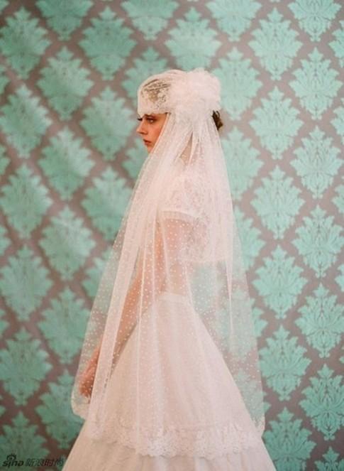Cô dâu đẹp ngất ngây với muôn kiểu voan đội đầu