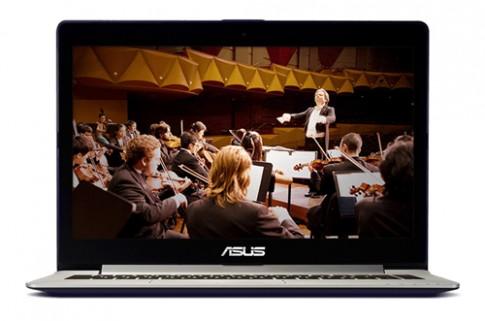 Dong laptop giai tri noi bat tu Asus