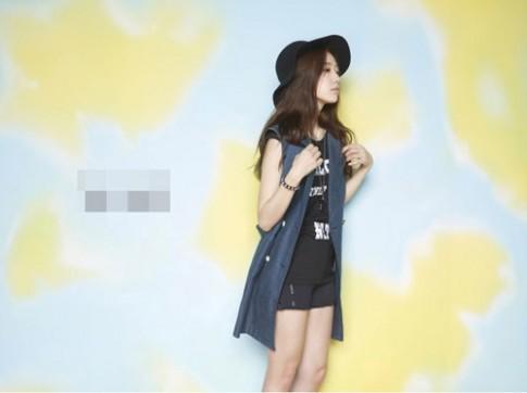 Học lỏm tư thế tạo dáng chụp hình của người đẹp Hàn