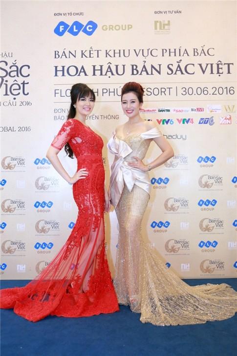 Lo dien 12 thi sinh dau tien vong chung ket HH Ban Sac Viet Toan Cau