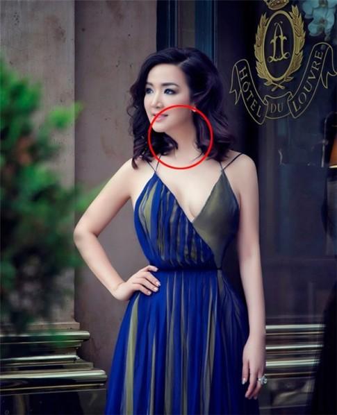 Mi nhan Viet di dang vi photoshop qua da nhu Ngoc Trinh, Elly Tran