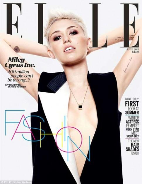 Miley Cyrus va mot thoi trang 'ho ron'