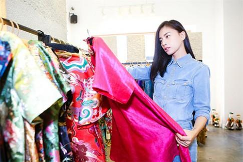 Ngo Thanh Van tat bat chuan bi lam 'Vedette' Dep show