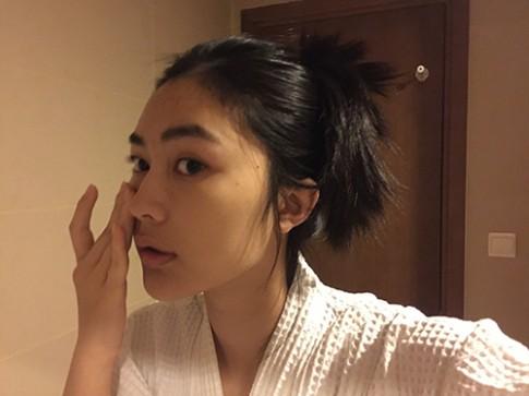 Nhật ký một ngày làm người mẫu của Helly Tống