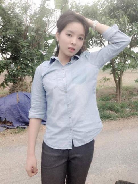 Nhung 9x xinh dep lam rang danh que huong Nam Dinh
