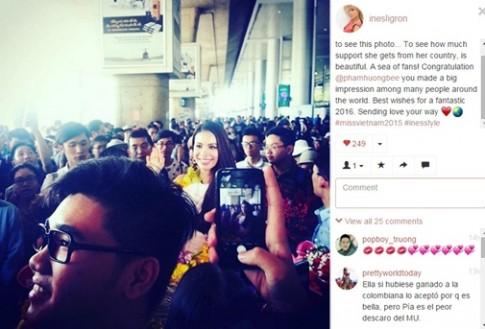 Phạm Hương vẫn được bà trùm Hoa hậu ca ngợi